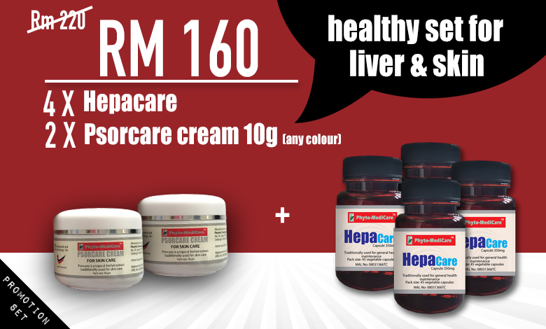 Healthy Set For Liver and Skin
